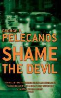 Book Jacket, Shame The Devil
