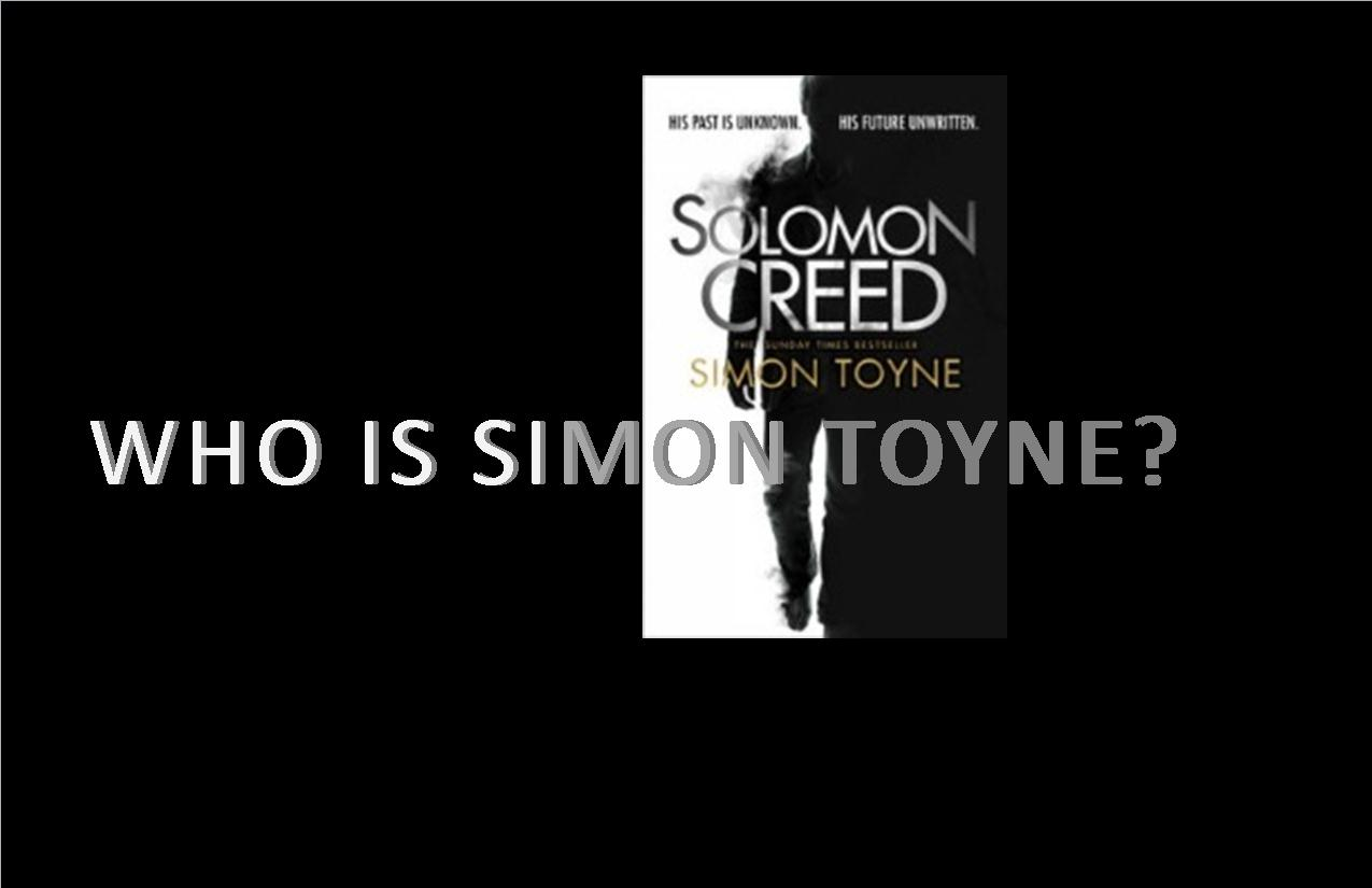 Who Is Simon Toyne?
