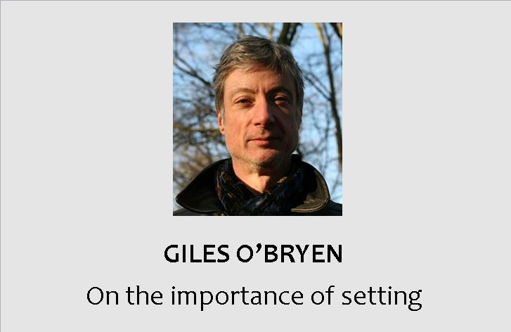 GILES O'BRYEN: Africa's last colony makes an intriguing setting for a thriller